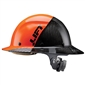 Lift DAX Carbon Fiber Full Brim 50-50 - Orange/Black