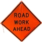 MDI Road Work Ahead Traffic Sign - 36in