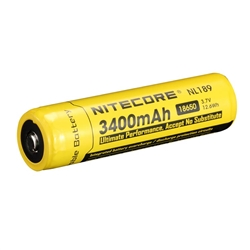 Nitecore NL189 3400mAh 18650 Li-Ion Battery