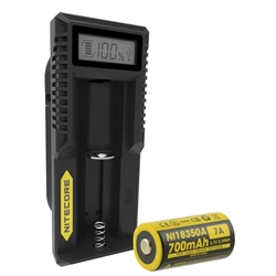 Nitecore UM10 USB Charger w/ 1x IMR 18350 Battery
