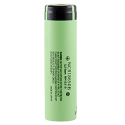 Panasonic NCR18650B 3400mAh 18650 UNProtected Battery