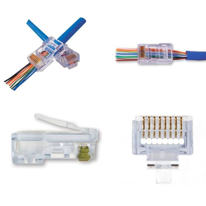 ez rj45 cat6 connectors 1000 pack rh techtoolsupply com installing cat6 connectors wiring diagram for cat6 connectors
