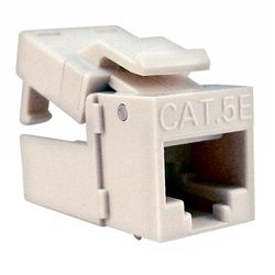 Platinum Tools CAT5 EZ-SnapJack Almond