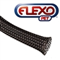 Tech Flex Expandable Sleeving, Black - 1in x 250ft