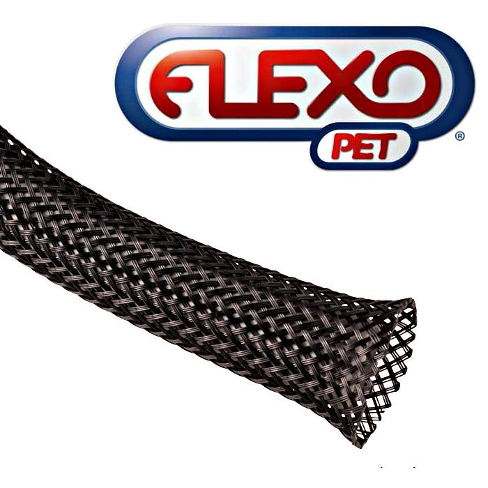 TechFlex Clean Cut Exp Black Sleeving 3//8in x 100ft