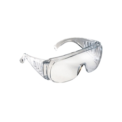 Radians Chief OTG Safety Glasses - Clear Lens