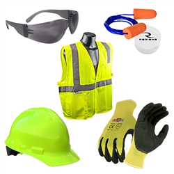 Radians High-Viz Deluxe New Hire Kit with Vest and Bag