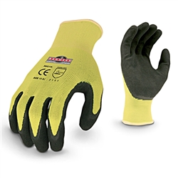 Radians Hi-Viz Knit Dip Glove - Medium