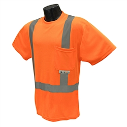 Radians Class 2 Mesh T Shirt, Orange - Med