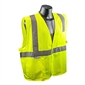 Radians Class 2 Safety Vest, Green - Large