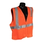 Radians Class 2 Safety Vest, Orange - 2XL