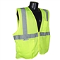Radians Class 2 Vest with Zipper, Green - Large