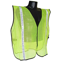 Radians Non-Rated 1in Safety Vest, Green - 2X-5X