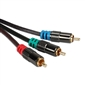 QVS Triple RCA HD Component Cable - 35ft