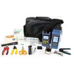 RMT 25pc Fiber Optic Tool Kit w/ Cleaver, Source, & Meter