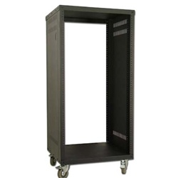 "21U Metal Rolling Rack w/Wheels <span class=""subWarning""></span>"