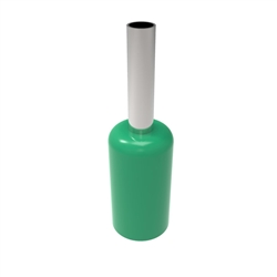 Insulated 10AWG Wire Ferrule - 1000pc Bag - Green