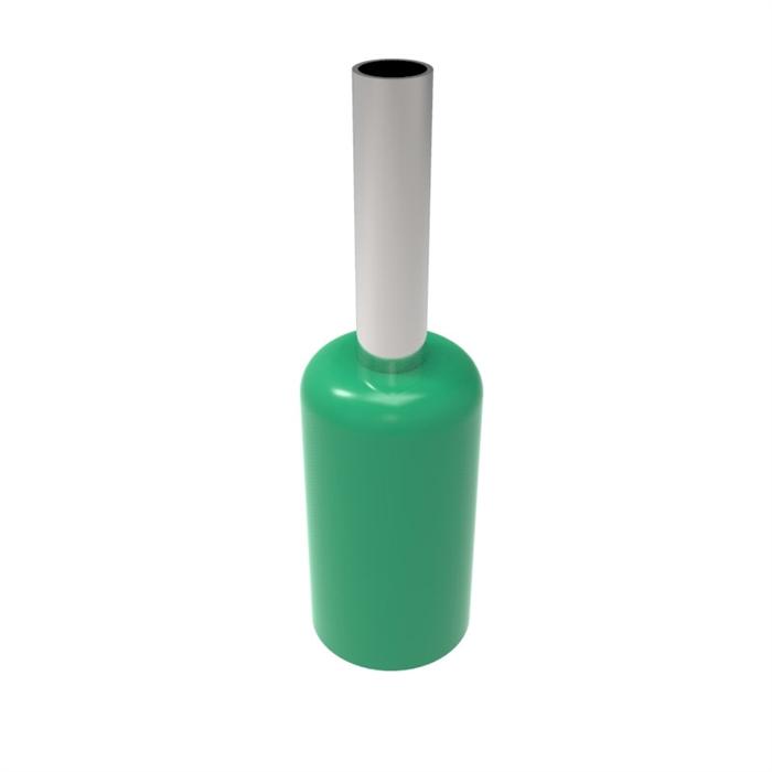 802 Piece Insulated Ferrule Kit w/ Crimper