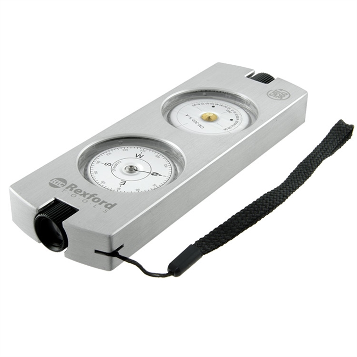 Rexford Tools SAT360 Compass / Clinometer w/Case