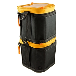 Puncture Resistant Electrical Maintenance Tool Storage Organizer TB-192-A2 ToughBuilt Two 6 Soft Tool Box//Case//Carrier Hard Body Plastic Lined Wall 2 Pack Cube Softboxes Tool Bag