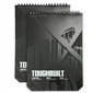 ToughBuilt Large Grid Notebooks  2-pack