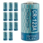 Tysonic CR123A 3.0V Lithium Ion Battery - Pack of 12