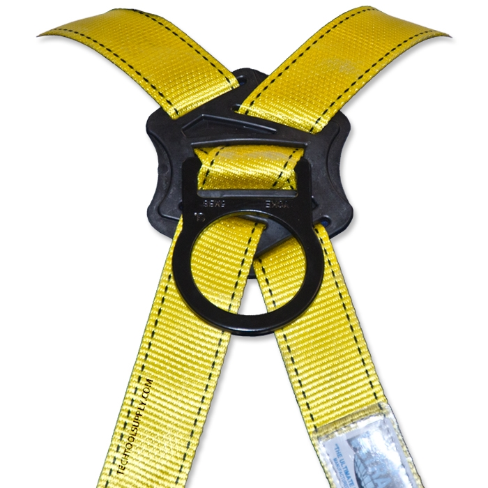 Ultra-safe Single D Ring Fall Protection Harness