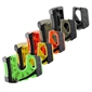 5-Pack Wedge-It Ultimate Door Stop - Multi-Color