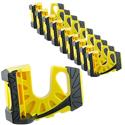10-Pack Wedge-It Ultimate Door Stop - Bright Yellow