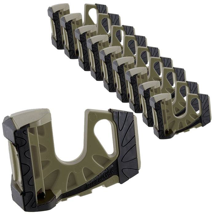 sc 1 st  Tech Tool Supply & 10-Pack Wedge-It Ultimate Door Stop - OD Green pezcame.com